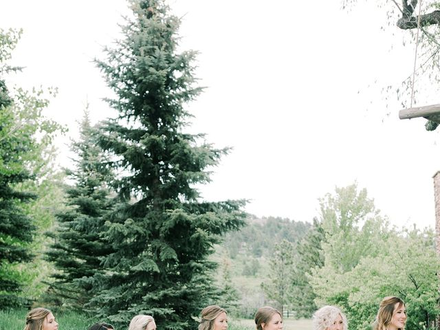 Mike and Tina's Wedding in Larkspur, Colorado 58