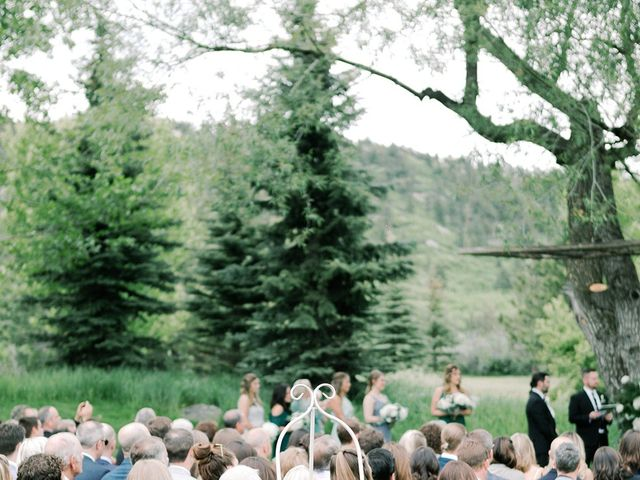 Mike and Tina's Wedding in Larkspur, Colorado 59