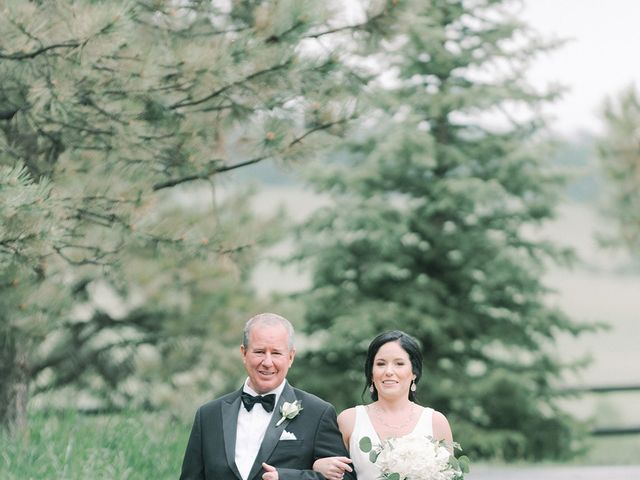 Mike and Tina's Wedding in Larkspur, Colorado 60