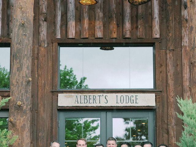 Mike and Tina's Wedding in Larkspur, Colorado 65