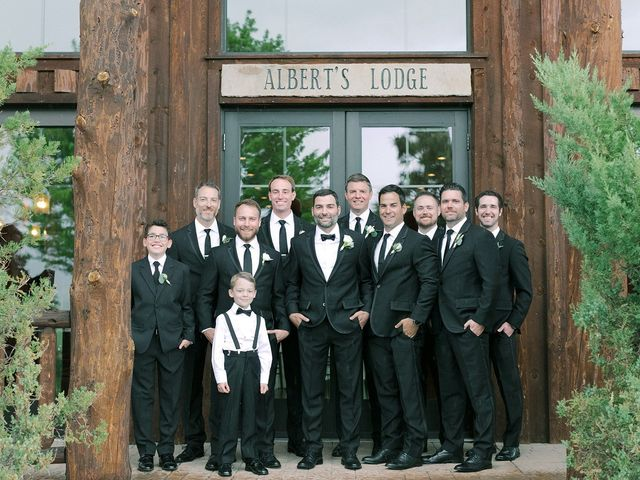 Mike and Tina's Wedding in Larkspur, Colorado 66