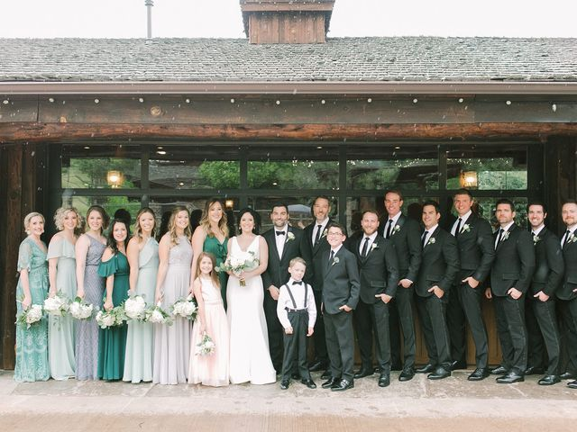 Mike and Tina's Wedding in Larkspur, Colorado 68
