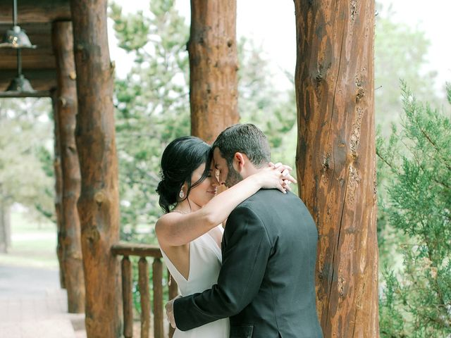 Mike and Tina's Wedding in Larkspur, Colorado 72