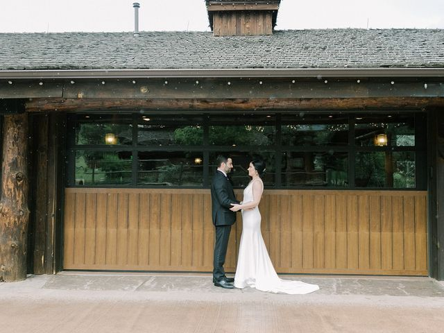 Mike and Tina's Wedding in Larkspur, Colorado 73