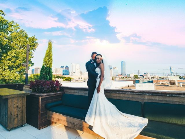 The wedding of Christian and Gregory
