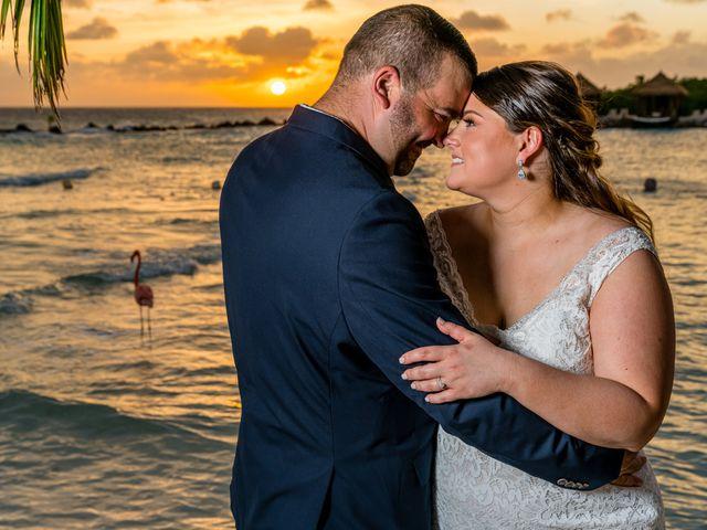 Darren and Megan's Wedding in Oranjestad, Aruba 12