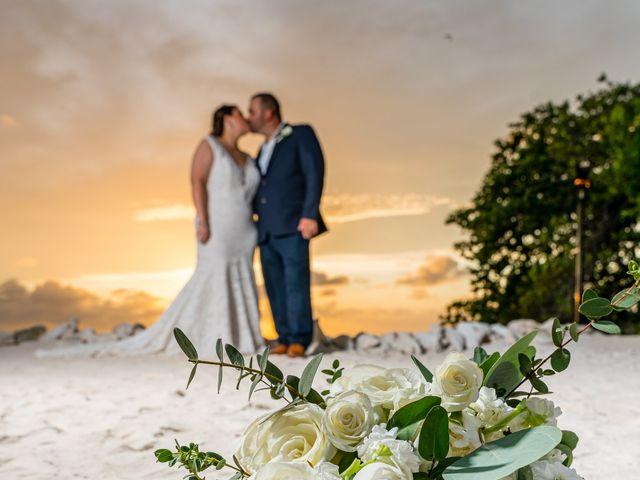 Darren and Megan's Wedding in Oranjestad, Aruba 1