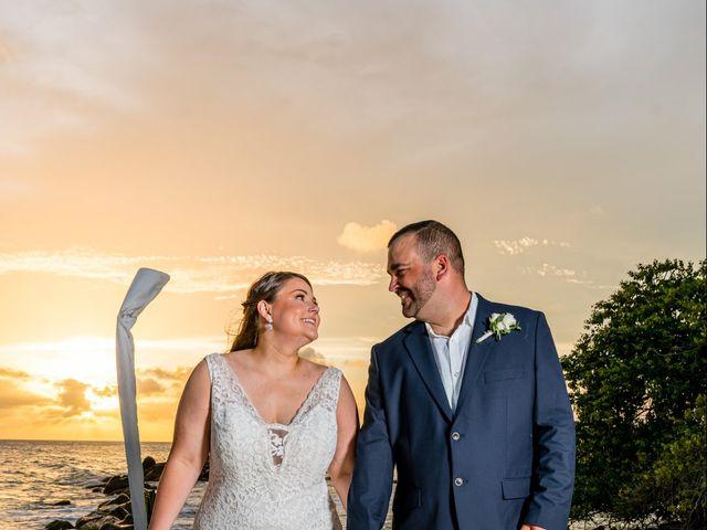 Darren and Megan's Wedding in Oranjestad, Aruba 14