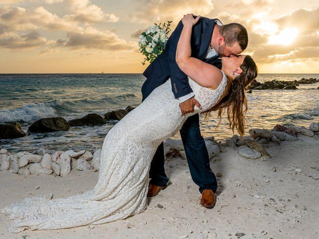 Darren and Megan's Wedding in Oranjestad, Aruba 15