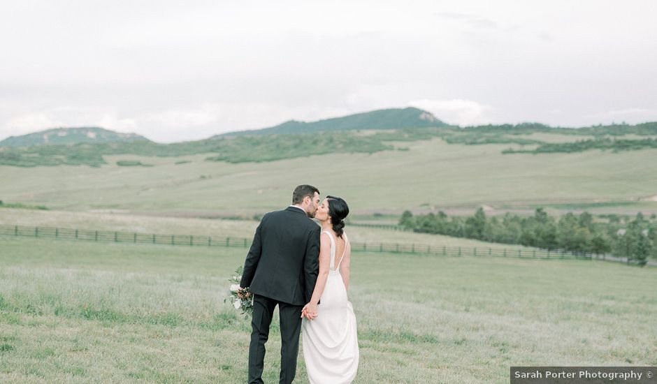 Mike and Tina's Wedding in Larkspur, Colorado