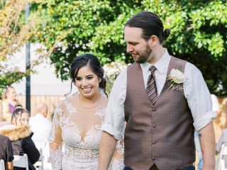 The wedding of Adriana and Kyle