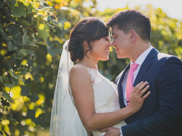 The wedding of Mia and Stewart