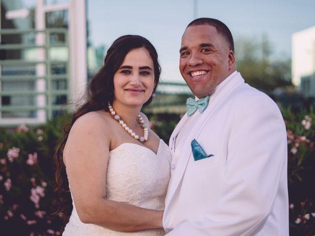 The wedding of Brandy and Richard