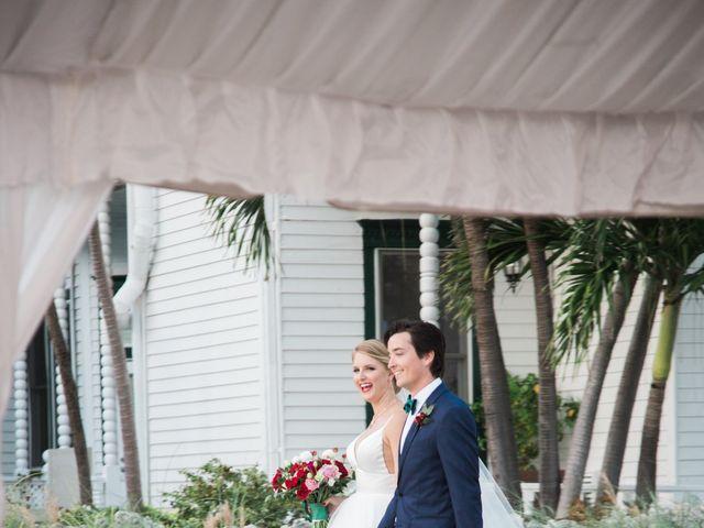 Matthew and Madeleine's Wedding in Key West, Florida 13