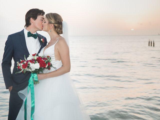 Matthew and Madeleine's Wedding in Key West, Florida 19