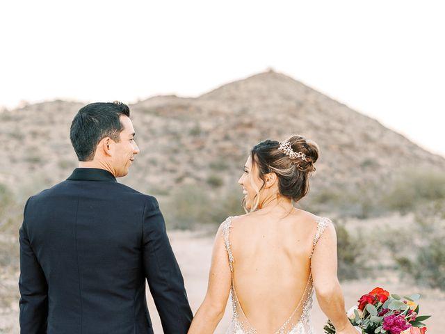 Marcus and Kimmie's Wedding in Gilbert, Arizona 6