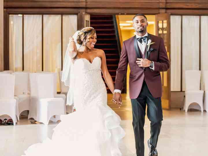 The wedding of Jdacia and Daniel