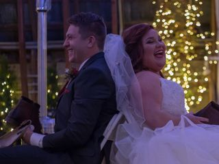 The wedding of Destiny and David