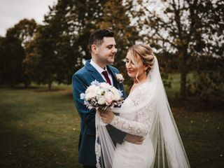 The wedding of Sophie and Oliver