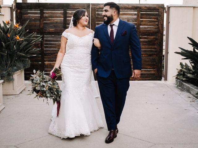 The wedding of Ilene and Omar