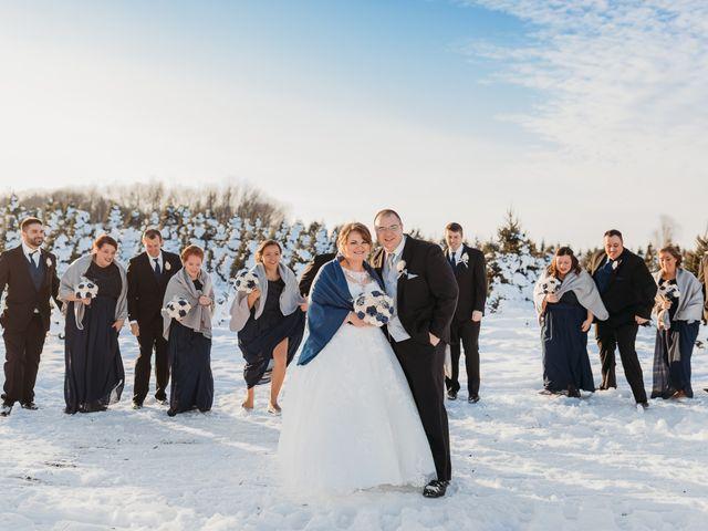 Justin and Amanda's Wedding in Luxemburg, Wisconsin 12