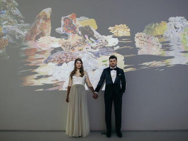 The wedding of Liane and John