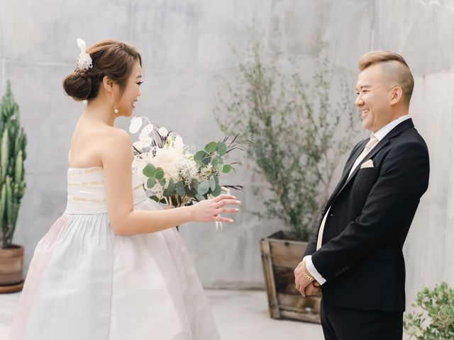 The wedding of Scott and Linda