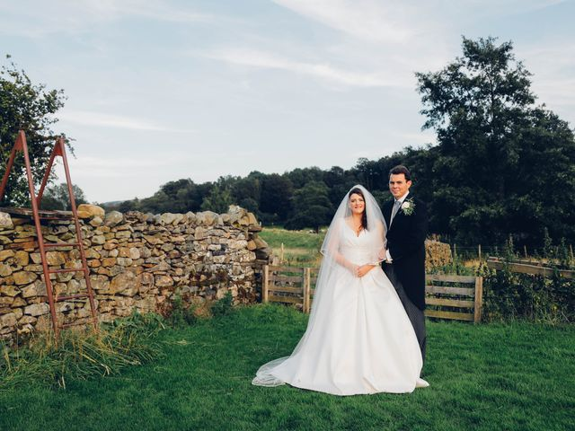 The wedding of Eleanor and Christopher