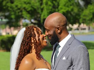 The wedding of Tanya and Shomari 1