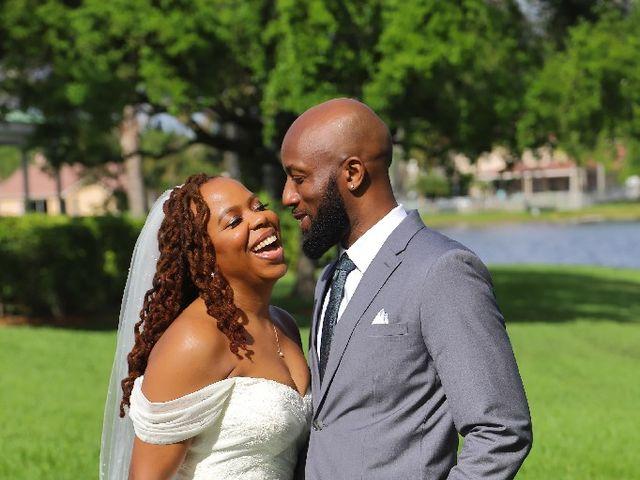 Shomari and Tanya's Wedding in Pembroke Pines, Florida 8