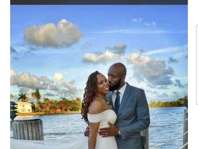 Shomari and Tanya's Wedding in Pembroke Pines, Florida 11