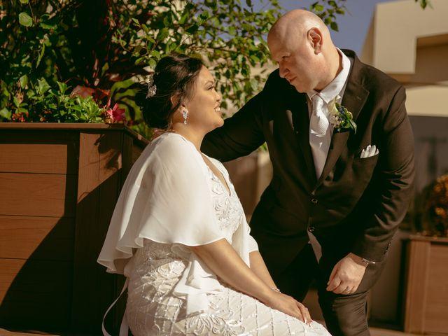 The wedding of Kathy and Noah