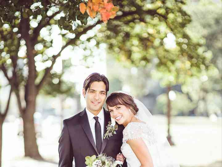 The wedding of Cameron and Colleen