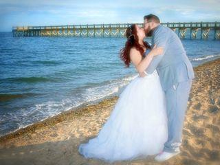 The wedding of Kara and Tom