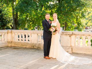 The wedding of Amanda and Josh