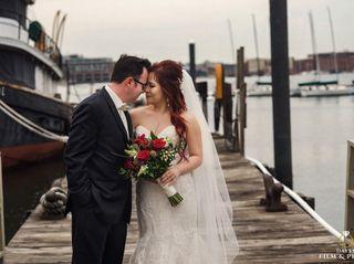 The wedding of Betty and Jon