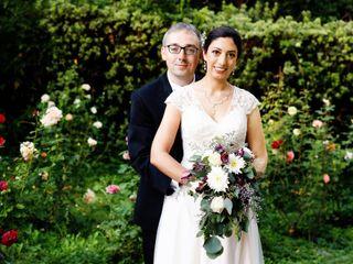 The wedding of Shusheela and John