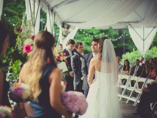 Elegant New York Garden Wedding, Wedding Real Weddings Gallery by