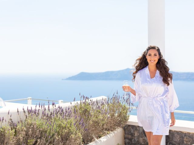 Ian and Jennifer's Wedding in Santorini, Greece 2
