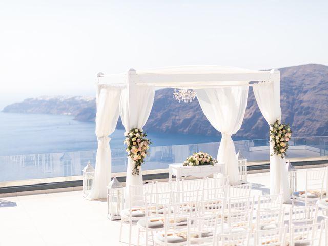 Ian and Jennifer's Wedding in Santorini, Greece 1