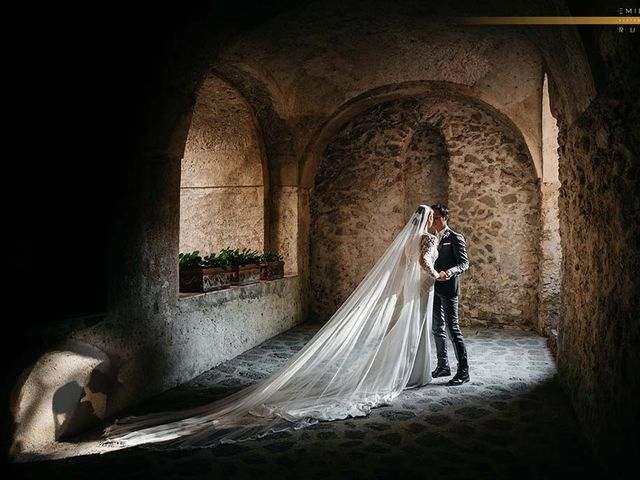The wedding of Sarah and Michael