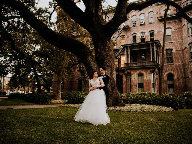 The wedding of Heather and Garrett