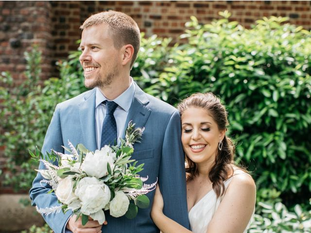 The wedding of Jacqueline and Matthew
