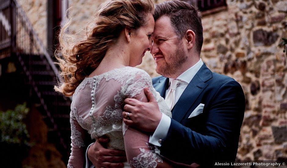 Jordi and Samui's Wedding in Tuscany, Italy