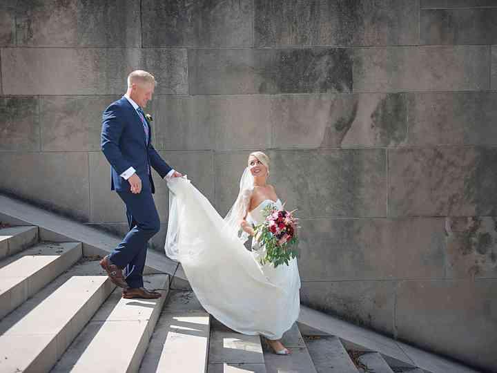 The wedding of Scott and Kristin