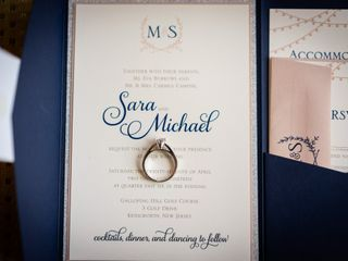 The wedding of Sara and Michael 1