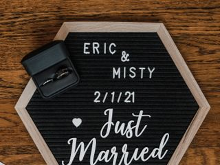 The wedding of Misty and Eric 1