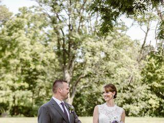 The wedding of Rachel and Tim