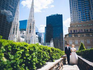 Katharina and Ralf's Wedding in New York, New York 10