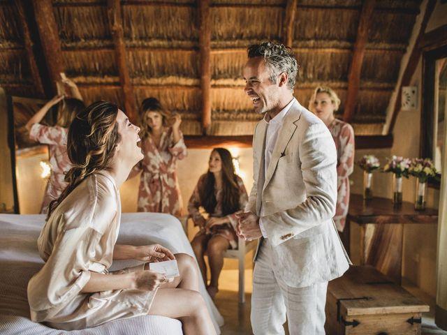 Joe and Bridget's Wedding in Tulum, Mexico 19